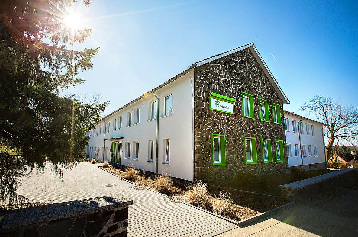 Studentenwohnheim Clausthal 1-Außenansicht