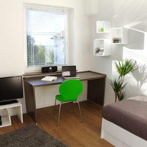 Studentenwohnheim Clausthal I Einrichtung für viel Platz zum Lernen